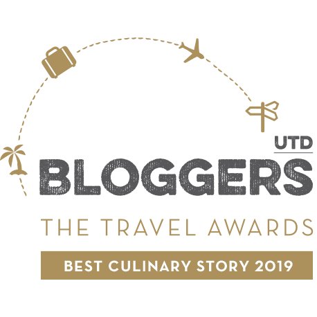 Winner Best culinary Story 2019 Travel Blog Awards