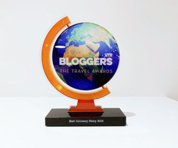 BREAKING: WOULD BE CHEF WINT TRAVEL BLOG AWARD