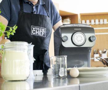 Would Be Chef x Philips: verse pasta met merguez en kerstomaten