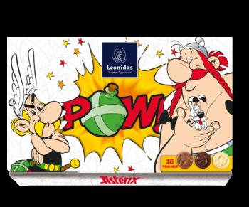 Win een POW!-doos Leonidas pralines van Astérix!
