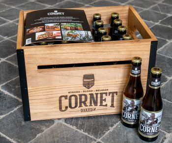 Win een krat bier vol Cornet!