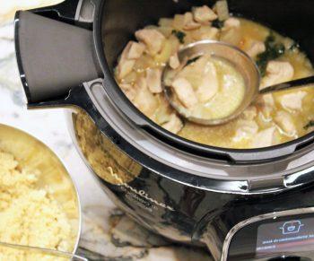Kip met conférencepeer, kaneel en saffraan in de Cookeo #adv Would Be Chef Sven Ornelis10