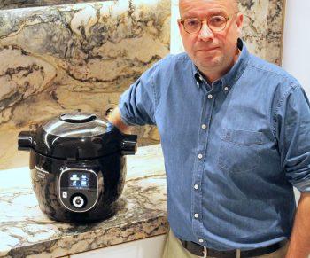 Kip met conférencepeer, kaneel en saffraan in de Cookeo #adv Would Be Chef Sven Ornelis3