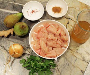 Kip met conférencepeer, kaneel en saffraan in de Cookeo #adv Would Be Chef Sven Ornelis4