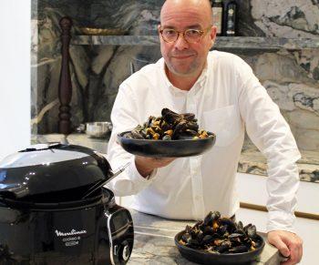 Mosseltjes met cocos, wortelen en rode curry in de Cookeo #Adv Would Be Chef Sven Ornelis13