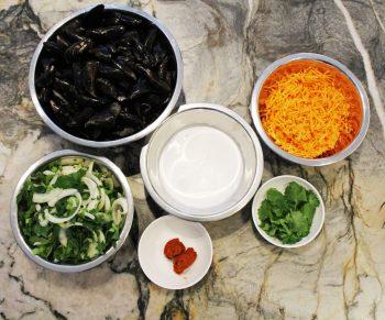 Mosseltjes met cocos, wortelen en rode curry in de Cookeo #Adv Would Be Chef Sven Ornelis2