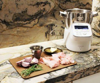 Blinde vink van kabeljauw en prosciutto in de Companion van Moulinex Sven Ornelis Would Be Chef6