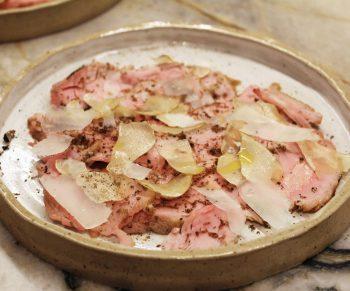 Kalfsvlees met witte truffel Would Be Chef Sven Ornelis3