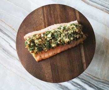 Mowi zalm met asperges & nieuwe aardappeltjes Would Be Chef Sven Ornelis10