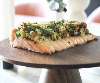Mowi zalm met asperges & nieuwe aardappeltjes Would Be Chef Sven Ornelis2