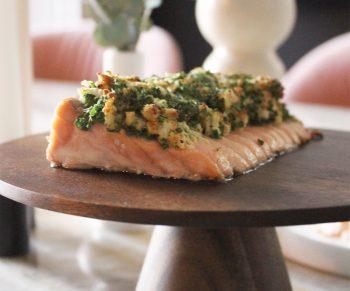 Mowi zalm met asperges & nieuwe aardappeltjes Would Be Chef Sven Ornelis3