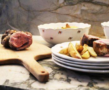 Varkenshaasje met blackwellsaus, zo lekker van bij ons! #collab Would Be Chef Sven Ornelis7