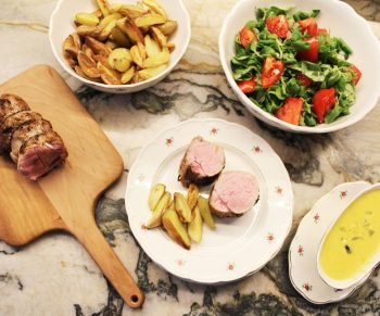 Varkenshaasje met blackwellsaus, zo lekker van bij ons! #collab Would Be Chef Sven Ornelis8