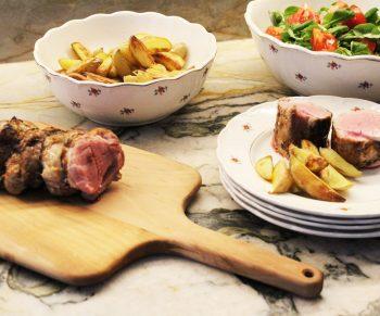 Varkenshaasje met blackwellsaus, zo lekker van bij ons! #collab Would Be Chef Sven Ornelis9